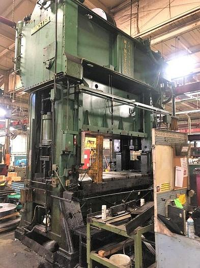 "Used 300 ton E2 Minster 96""x48"" SSDC Stamping Press"