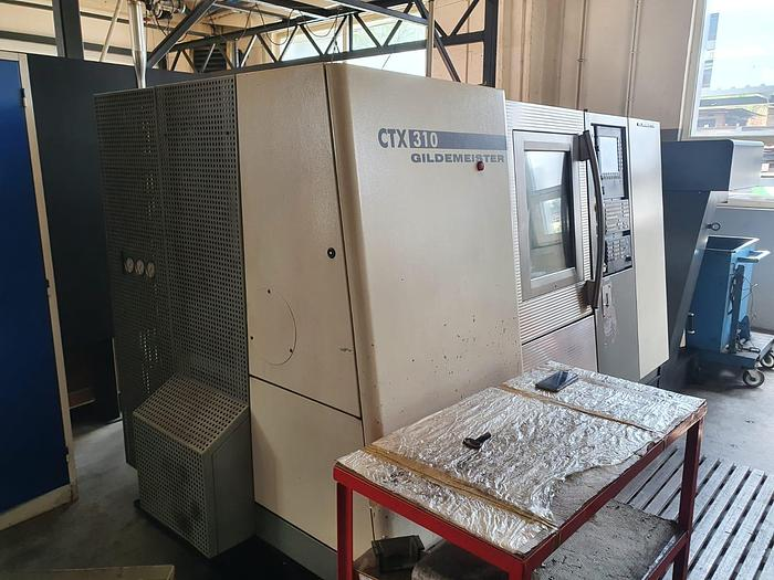 Używane Tokarka CNC GILDEMEISTER CTX 310