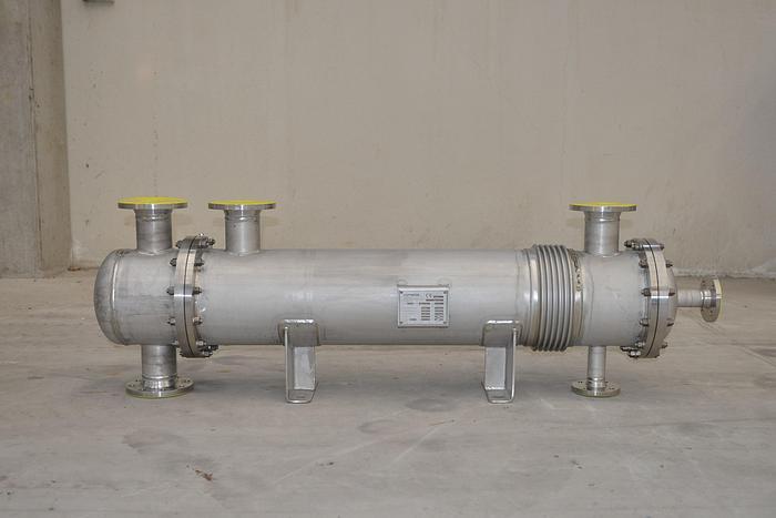 Scambiatore di calore COPRINOX da 10,5 metri quadrati