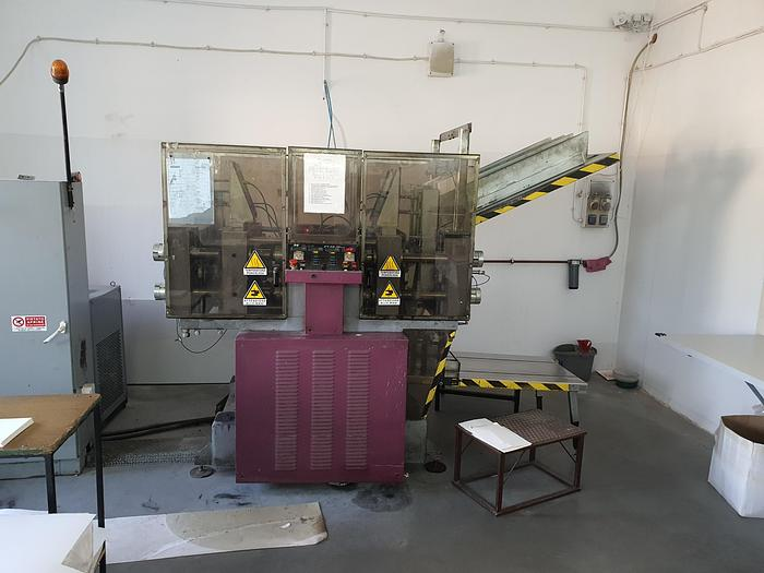 Used NOVATEC PV 10 plate forming machines trays