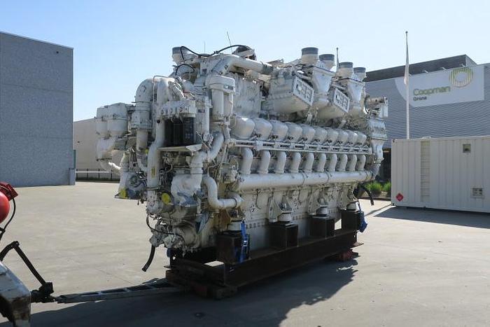 2000 MTU 20V1163TB93 marine engine 10000 HP