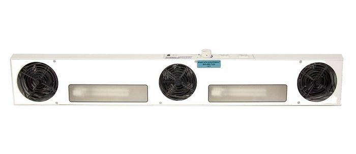 Used Simco 4004063 Aerostat Guardian Overhead Ionizer Blower 120V Heat, Lights (7477)