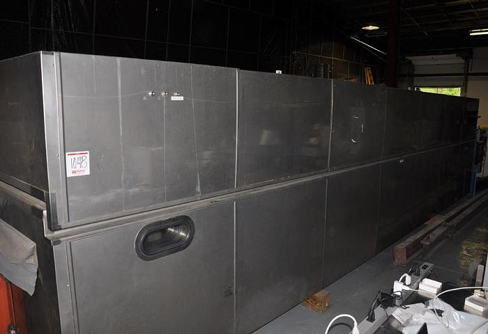 "Used 72"" WIDE x 25' LONG WORLDWIDE STAINLESS STEEL FLOATATION DRYER"