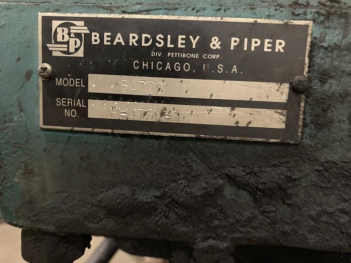 BEARDSLEY & PIPER 100B-250 GEAR BOX