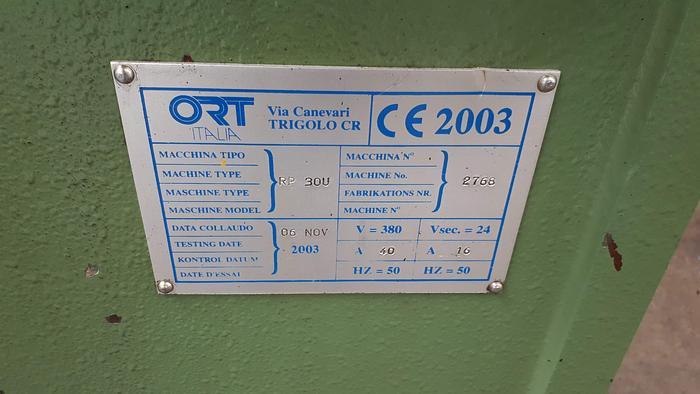 Rullatrice ORT RP30U - rullatrice - rouleuse