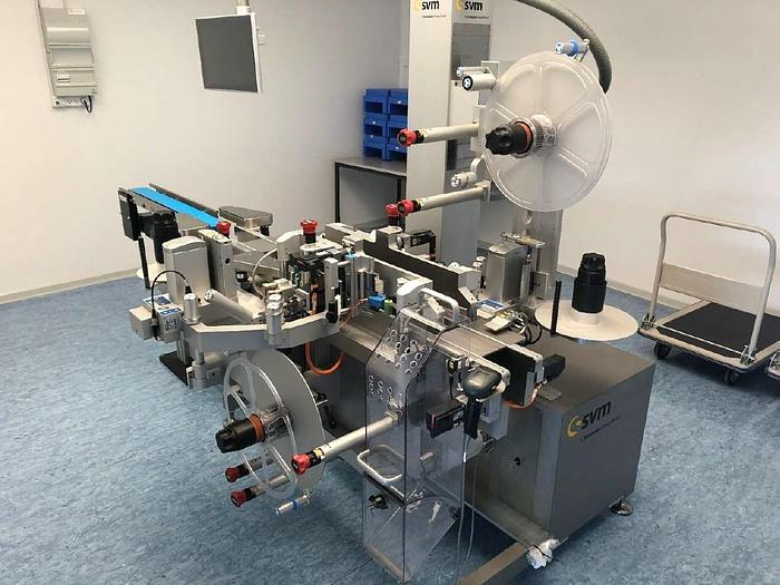 Carton Serialization Unit - labeller with print and tamper seal