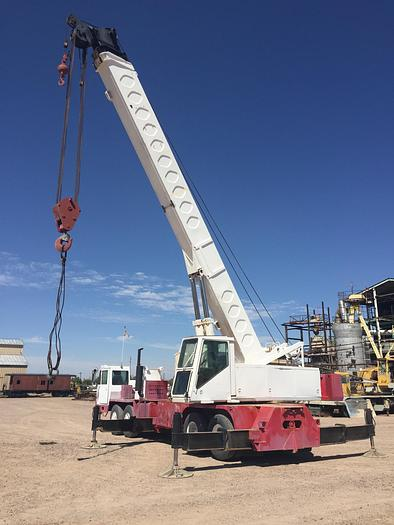Used 50 Ton FMC / Link-Belt Model HTC-50 Hydraulic Truck Crane
