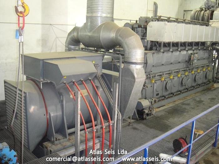 3.4 MW Complete HFO Power Plant MAN 8L 32 40