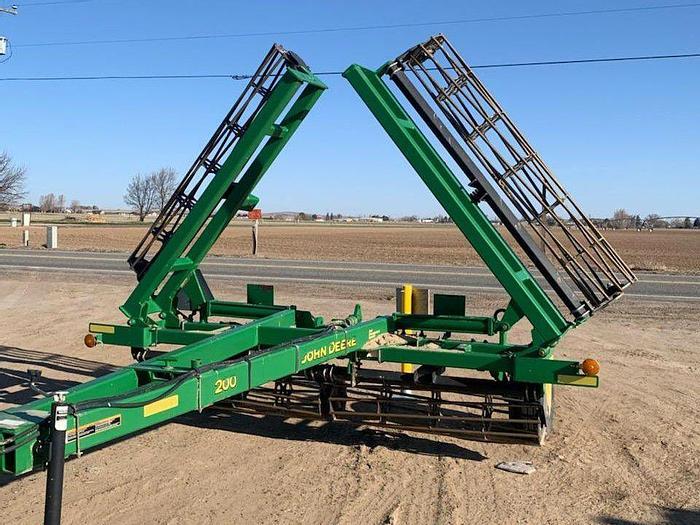 Used 25' John Deere 200 Rolling Harrow