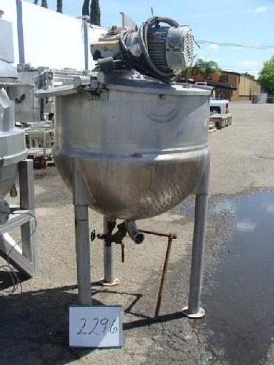 LEE 150 Gallon Jacketed Mix Kettle