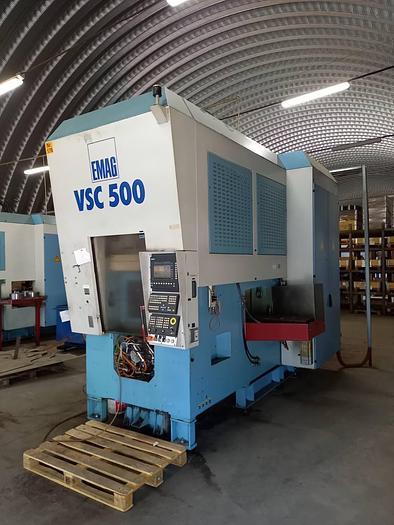 Gebraucht 2001 MMT VSC500 vertikale Pick up Drehmaschine