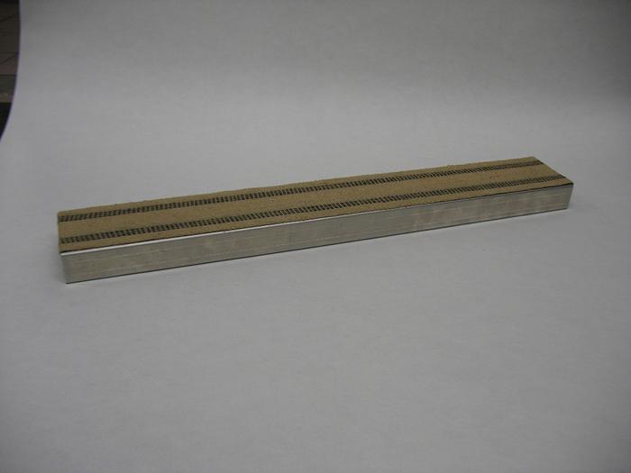 Bagel Flip Board w/Burlap (Aluminum)