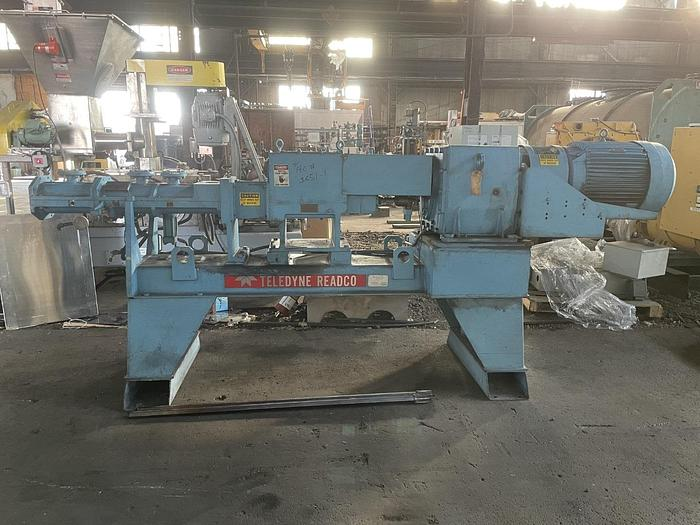Used 3.5 IN. READCO TWIN SCREW CONTINUOUS PROCESSOR – S/S – JACKETED (#9727)