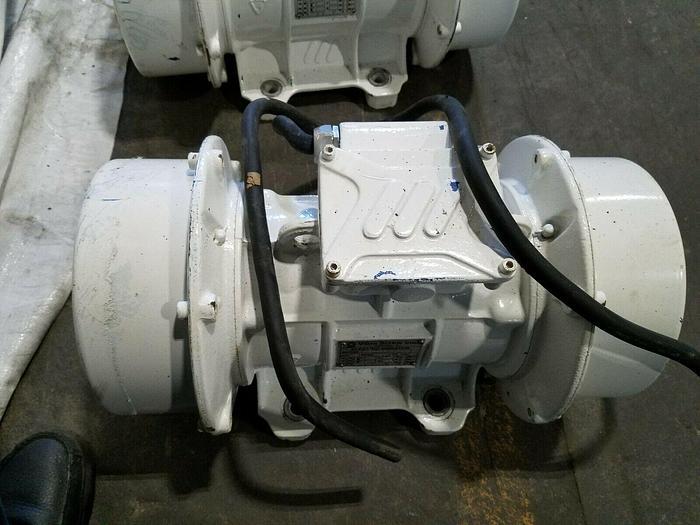 Used Vibra Screw Electric Vibrator Motors used for powder hopper shakers