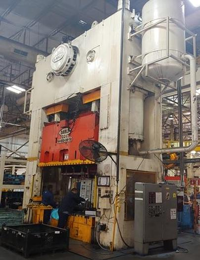 """600 ton Danly 132""""x72"""" SSDC Used Stamping Press"""