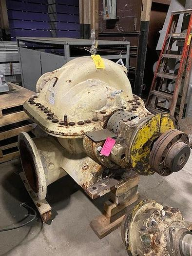 Used AHLSTROM SULZER ZTO-40 FAN PUMP 9350 GPM