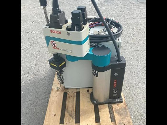 Used 2002 Bosch Turbo Scara SR 4 Swivel Arm Robot