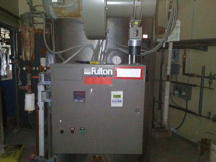 Used 2006 Fulton 50hp 150 PSI steam boiler