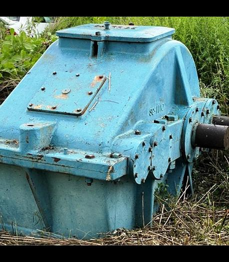 Used Alten Enclosed Gear Drive Model A-108: Serial BA-4 Gear Reduction 13.75:1