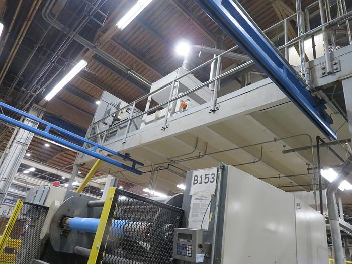 """Used Complete 4 1/2"""" GEC Blown Film Line"""