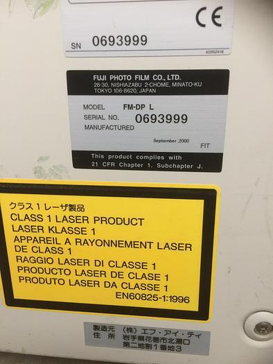 2000 DRY LASER IMAGER FUJI FM-DP L