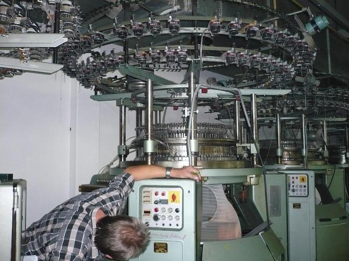"TERROT Interlock-Rundstrickmaschine I3P-184 E18/34""/96"