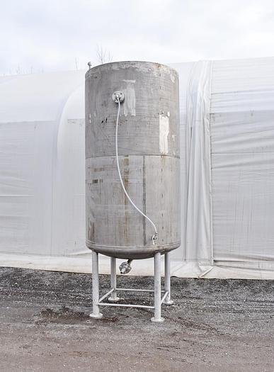 Used USED 1110 GALLON TANK, STAINLESS STEEL