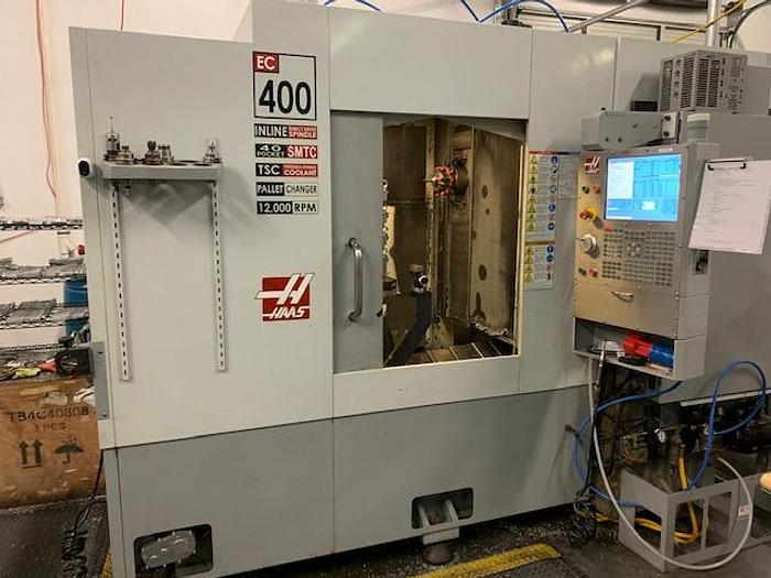 2008 HAAS EC 400 HORIZONTAL MACHINING CENTER