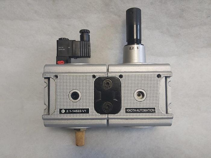 """Gebraucht Druckregler + 3/2 Wege Ventil G1"""", R 10-6 K + M CL10 24V=, Multifix,  gebraucht-Top"""