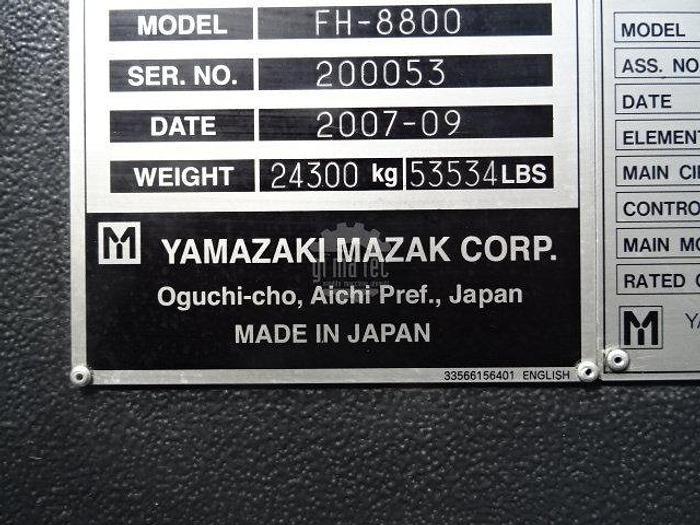 CENTRO ORIZZONTALE MAZAK FH 8800