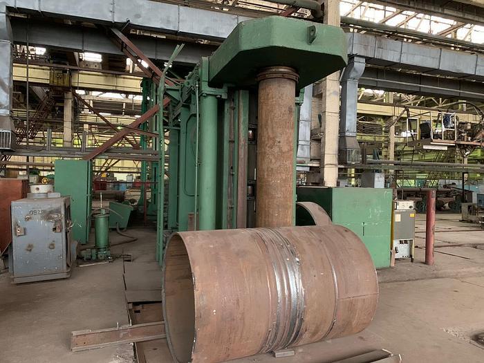 Used Fujicar(Japan) 2200 ton Hydraulic Plate Bending/Rolling Machine