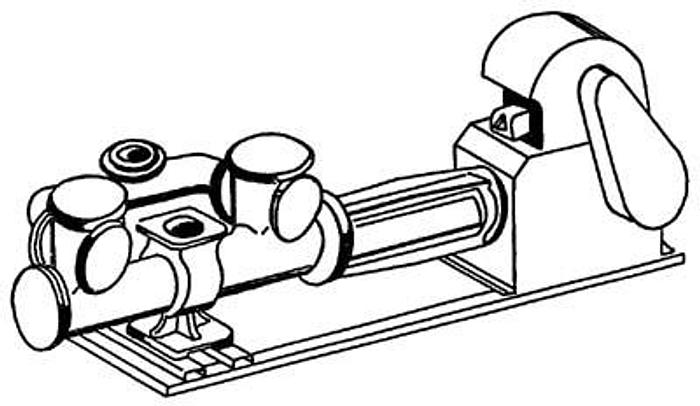 Pompa tłokowa - JPTe-