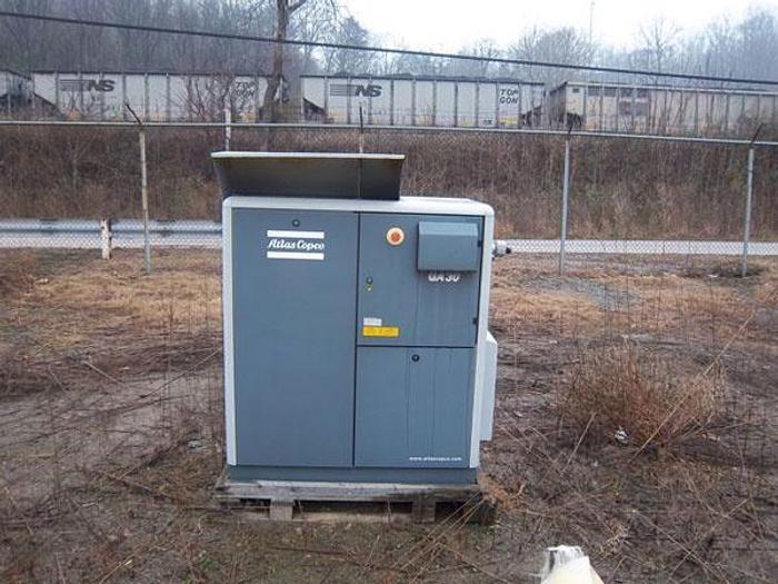 Used GA30 Atlas Copco Electric Compressor