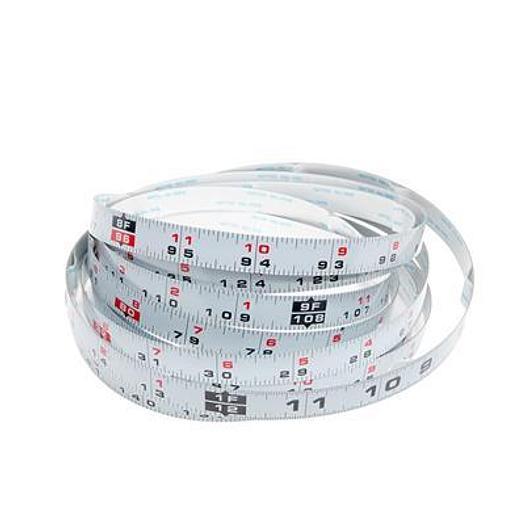 12' Self-Adhesive Measuring Tape (R-L Reading)