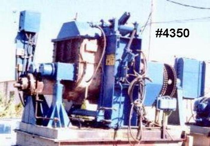 Used 75 GALLON DAY MIXER/EXTRUDER – S/S – JACKETED