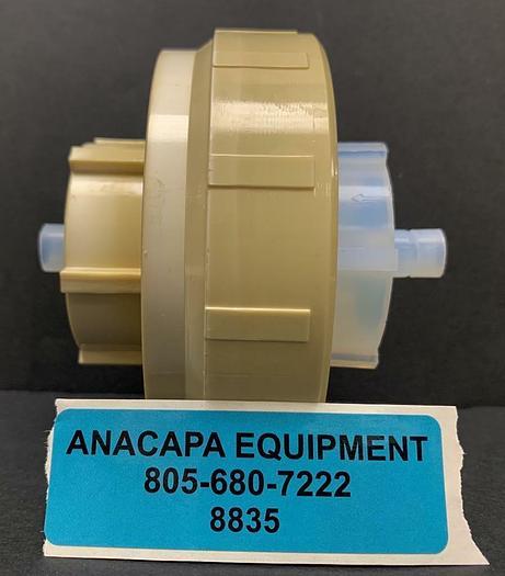 Used Savillex 401-44-90-40-44-2 90 mm Single Stage Filter Assembly Ultem Clamp (8835)