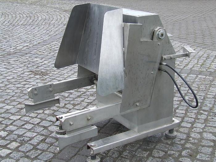Używane Wywrotnica do wózków cimbera - jako urządzenie napędzane z maszyny, z którą współpracuje  np. kuter, wilk, mieszałka, itp.