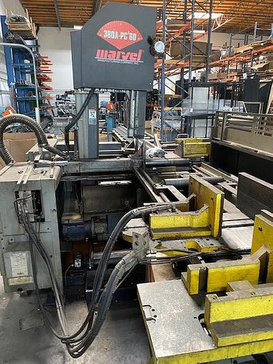 2013 Marvel Marvel 380A-PC 60 Vertical Tilt-Frame Band Saw