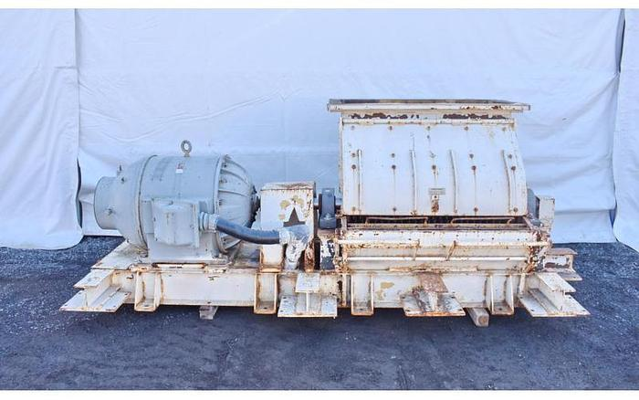 Used USED SCHUTTE HAMMER MILL, SWINGING HAMMERS, CARBON STEEL, 250 HP