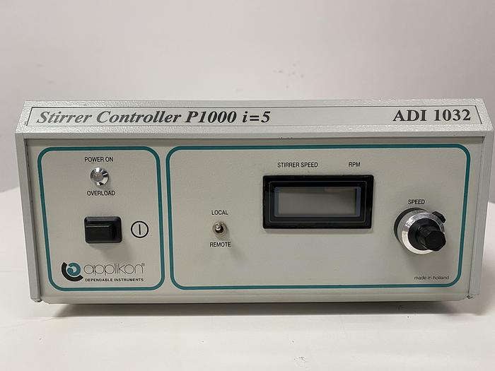 Used Applikon Biotechnology ADI 1032 Stirrer Controller  P1000 i=5