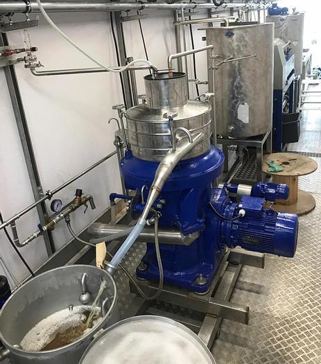 Used Cod liver oil process line