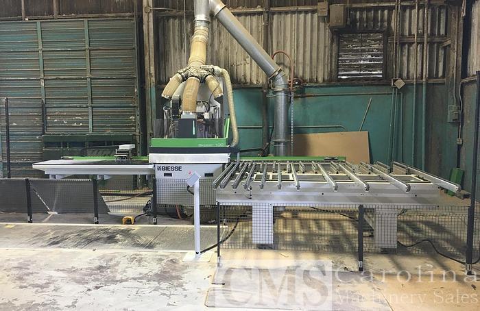 Used 2017 Biesse Skipper 100 CNC Boring Machine