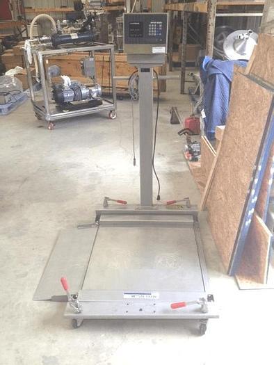 Used METTLER FLOOR SCALE – MODEL JAGXTREME