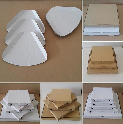 Complete line – die cut+printer+packing – for cardboard products (pizza boxes, cup holders etc)