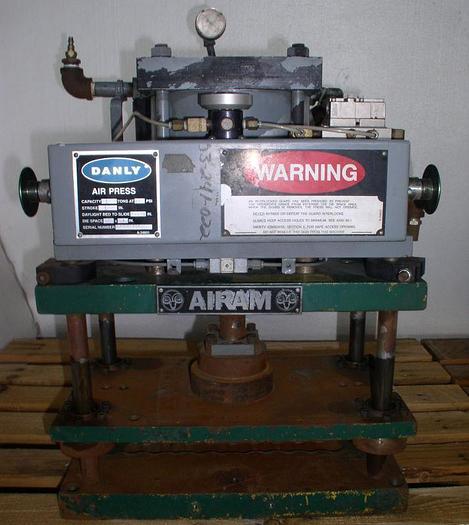 Used 2 Ton Danly Airam Pneumatic Press