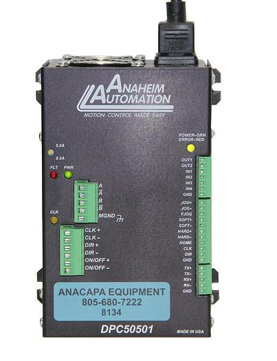 Used Anaheim Automation DPC50501 Motion Controller Step Motor Drive Pack (8134)W