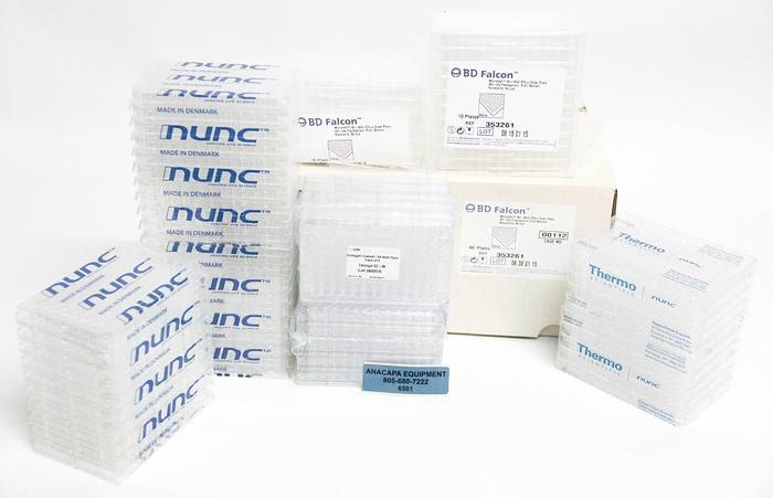 BD Falcon Thermo Scientific Nunc Zen Bio Microplates 96-Well LOT OF 95 (6501)