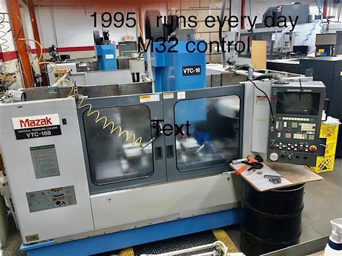 Used 1995 Mazak VTC16B