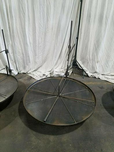 """Used 43"""" Stock Reel Metal Material Strip Payoff Stamping"""