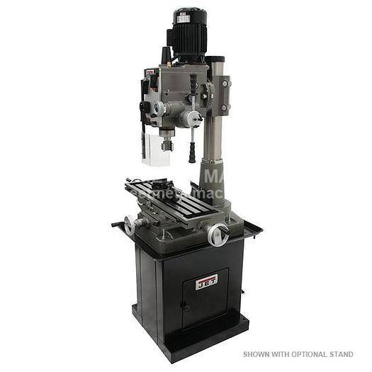 JET JMD-45GHPF Geared Head Square Column Mill/Drill with Power Downfeed 351046